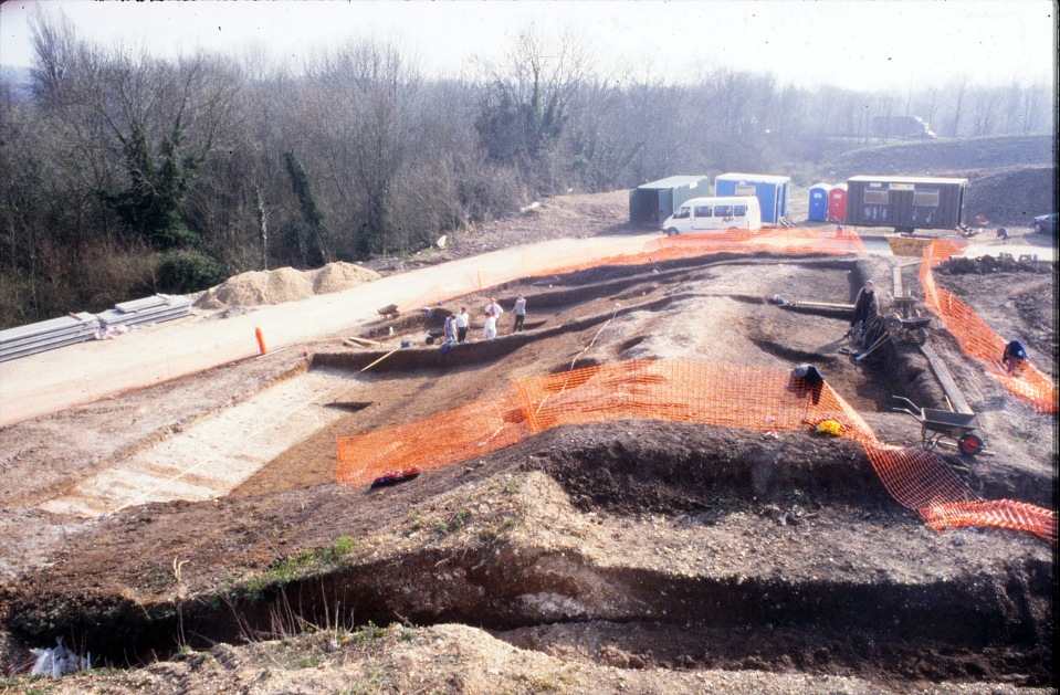 Excavations in 1997